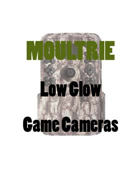 Moultrie Low Glow Trail Cameras