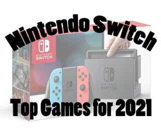 Top Nintendo Switch Games for 2021