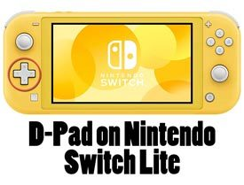 D-Pad on Nintendo Switch Lite