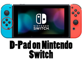 D-Pad on Nintendo Switch