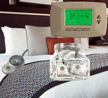 Save money with heated mattress pads and blankets