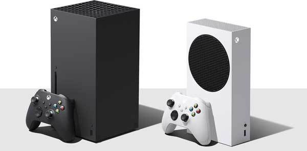 Xbox Series X and Series S boxes